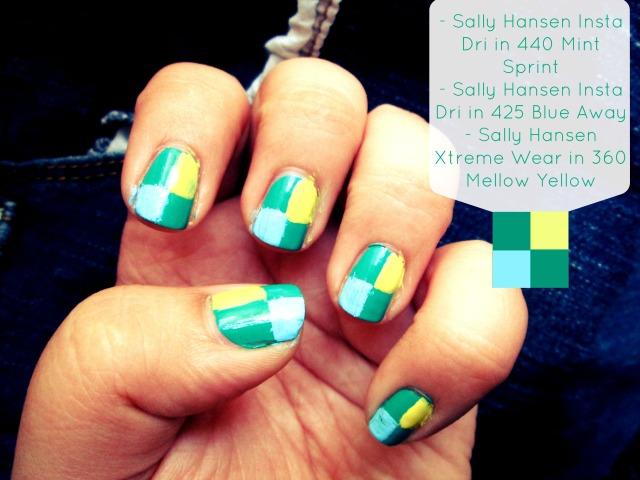 Girls Night In Sally Hansen I Heart My Nail Art