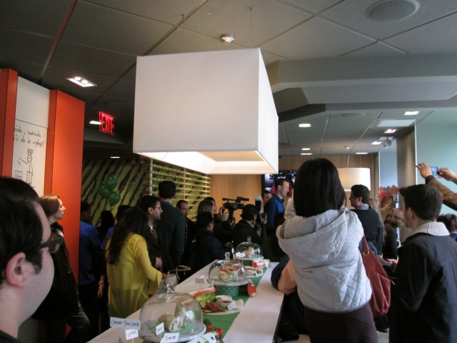 McDonald's First Taste Press Event