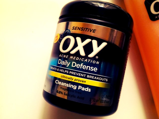oxy sensitive skin